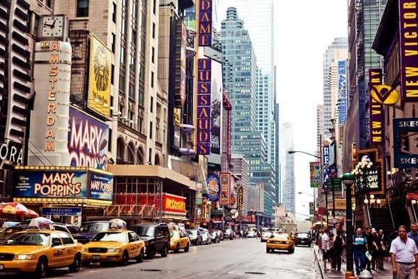 Times Square i New York City